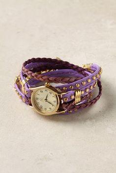 Second Strand purple Watch