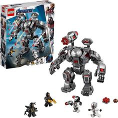 Buy LEGO Super Heroes - War Machine Buster at Mighty Ape NZ. LEGO Super Heroes – War Machine Buster Storm into battle against the Outriders and save Ant-Man with the LEGO® Marvel Avengers 76124 War Mach. Lego Marvel's Avengers, Avengers Team, Marvel Avengers Movies, Young Avengers, Lego Hulk, Spiderman, Batman, Ms Marvel, Captain Marvel