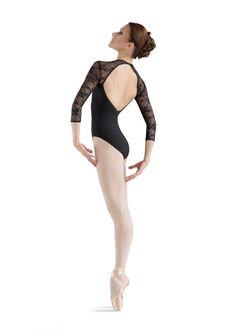 LOVE THIS!!!! Bloch Kate 3/4 V-front Neck Dance Leotard