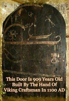 909 year old door Stillingfleet in the UK Near York - Church Door                                                                                                                                                     More
