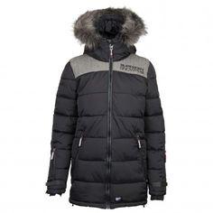 Superdry Alpine Attitude winterjas dames black De Wit Schijndel