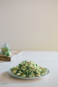 Barley and Brussels Sprouts Salad with Orange Vinagarette