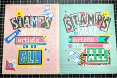 Stamp Meme by MaryGunnFunn.com Wall Decor for the studio, #CTMH, FUNNUniversity.com