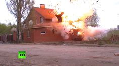 'Too dangerous to take out explosives' - Russian police find, blow up bo...