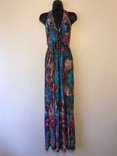 6504d1b99c Summer Dress Backless Casual Formal Long Dress Women s Size Medium