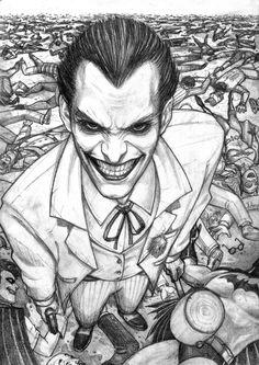Joker's sLAUGHter.. by Arioanindito