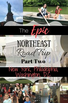 When you are in the northeast part of America you can experience multiple big cities right near each other. From NYC to D. there is so much to see and do. Travel Tips Tips Travel Guide Hacks packing tour Road Trip Packing, Us Road Trip, Road Trip Essentials, Family Road Trips, Road Trip Hacks, Family Travel, Travel Packing, Family Vacation Destinations, Cruise Vacation