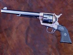 """The Colt Single Action Army aka The Peacemaker. This is how the West was won.    Those who carried it include the Texas Rangers, the United States Army, """"Wild"""" Bill Hickok, Doc Holliday, Bat Masterson, Wyatt Earp, Pat Garrett, T.E. Lawrence of Arabia, Theodore Roosevelt and General Robert E. Lee, as well as many outlaws."""