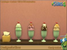 My Sims 4 Blog: TS3 Candy Land Conversions by Kyta1702