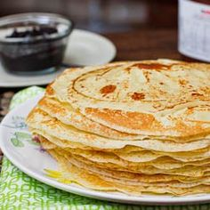 Crepes - easy recipe for delicious crepes.