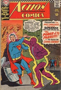 Action Comics #340  first appearance of the Parasite.