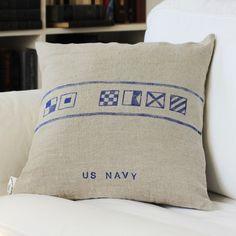Last Gasp of Summer: Nautical Pillows
