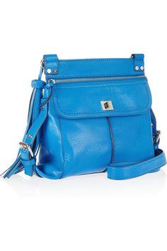 Diane von Furstenberg Elaine Leather Shoulder Bag