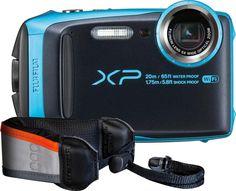 Fujifilm - FinePix XP120 16.4-Megapixel Digital Camera - Blue