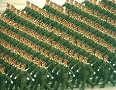 The People's Liberation Army // copy & paste Source Of Inspiration, Daily Inspiration, People's Liberation Army, Social Organization, Ghost In The Machine, Above The Clouds, Patterns In Nature, Illusions, Art