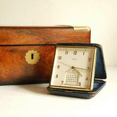 pretty vintage travel clocks