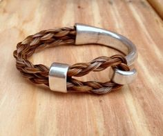 Hey, I found this really awesome Etsy listing at https://www.etsy.com/listing/179422133/mens-or-womens-braided-horsehair