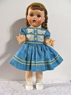 Saucy Walker Doll  16-Inch Ideal  1950s   $245