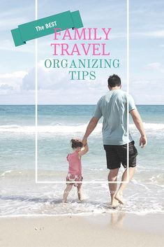 Family Travel Organizing Tips - With all the traveling we've done as a family, here are the top 7 Family Travel Organizing Tips that really save the day.