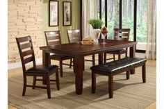 I think this would be perfect for Ulinda!  Milton Greens Stars Dining Table with Leaf 8840