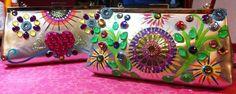 Daisy de la Flora Bejeweled Handbag