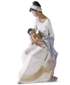 Lladro Collectible Figurine, A Mother's Embrace