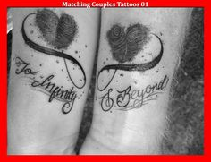 nice Couple Tattoo - Matching Couples Tattoos 01...