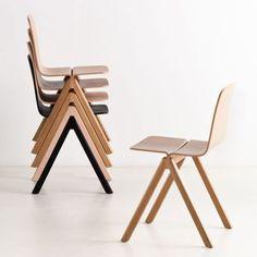Copenhague Chair / 23 Design Stacking Chairs http://vurni.com/design-stacking-chairs/