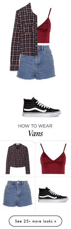 """""""Untitled #1383"""" by melx99 on Polyvore featuring Lipsy, Topshop, Elizabeth and James and Vans"""