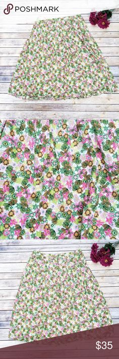 MOVING SALE‼️Mountain Lake Pleated Flower Skirt 🌸 ★ Like new condition!  ★ This adorable Mountain Lake skirt is too cute! Has a kind of LP feel, bright colors and floral pattern! 💕 ★ 100% Cotton. ★ NO TRADES! 🚫 ★ NO MODELING! 🚫 ★ YES REASONABLE OFFERS! ✅ ★ Measurements available by request and as soon as possible. 💁🏼 Mountain Lake Skirts