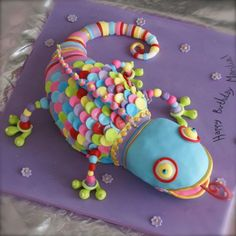 Carma Chameleon Cake...for my 30th bday? Hint hint @Leah Bennett Whitted