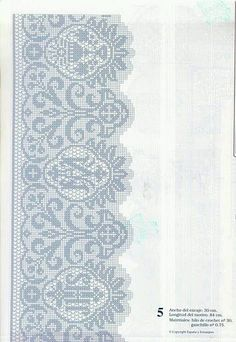 lo spazio di lilla: A gentile richiesta...bordi a filet per la tovaglia d'altare