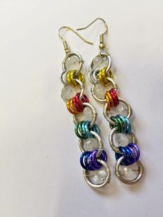 dreampaths Jewelry Designs: > CHAINMAIL RAINBOW