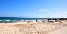 beach at sousse Tunisia