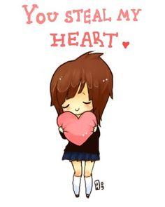 cute+kawii | cute, heart, kawaii, text - inspiring picture on Favim.com