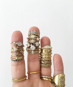 rings by Polly Wales