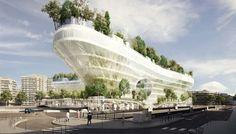 In 2022 staat midden in Parijs deze gigantische bomenflat