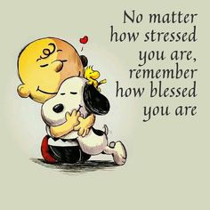 Charlie Brown and Snoopy. Stressed but Blessed. Images Snoopy, Snoopy Pictures, Quote Pictures, Photos With Quotes, Positive Quotes, Motivational Quotes, Funny Quotes, Inspirational Quotes, Meaningful Quotes