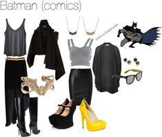 """Batman (comics)"" by bforbel on Polyvore"