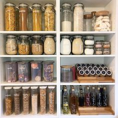 Ikea Pantry, Kitchen Cupboard Organization, Kitchen Pantry Design, Kitchen Organization Pantry, Home Organisation, Pantry Storage, Ikea Kitchen, Kitchen Cupboards, Home Decor Kitchen
