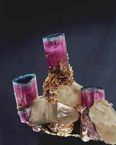 tourmaline in matrix | Tourmaline in Matrix.