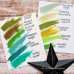 Distress Ink Color Pop: Lucky Clover! | Simon Says Stamp Blog