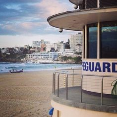 Bondi Lifeguard Tower, always keep an eye on you! Bondi Beach Australia, Bondi Beach Sydney, Sydney Beaches, Coast Australia, Sydney Australia, Beach Lifeguard, The Sound Of Waves, Summer Dream, Travel Activities
