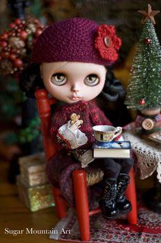 My Christmas Heart. Sugar Mountain Peasant Top by SugarMountainArt
