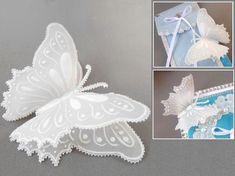 Pergamano : technique du parchemin Découpez comment réaliser de superbe papillons qui décoreront à merveille un carte, une boîte ou une table.