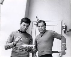 DeForest Kelly AND William Shatner
