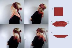How to wear head scarf – 6 easy ways: casual one knot style, Gypsy way, African style, girly way, ponytail wrap knot & ponytail two knot loose style. Head Bandana, Head Turban, Pirate Halloween Costumes, Halloween Outfits, Diy Pirate Costume, Gypsy Costume, Gypsie Costume Diy, Halloween Kleidung, Head Scarf Styles