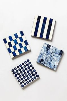 Capela Tile Coaster by: Anthropologie