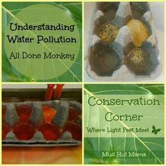 Understanding Water Pollution for Kids: A Science Experiment from @Leanna @ Alldonemonkey.com - Mud Hut Mama