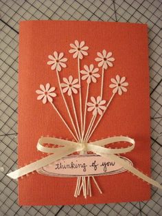Art Projects, Projects To Try, Diy And Crafts, Paper Crafts, Wedding Balloons, Message Card, Diy Cards, Thank You Cards, Paper Flowers
